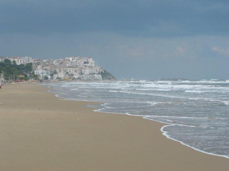 Beach to Rodi Garganico