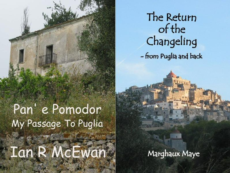 Our Books - read all about how we came to live on the Gargano