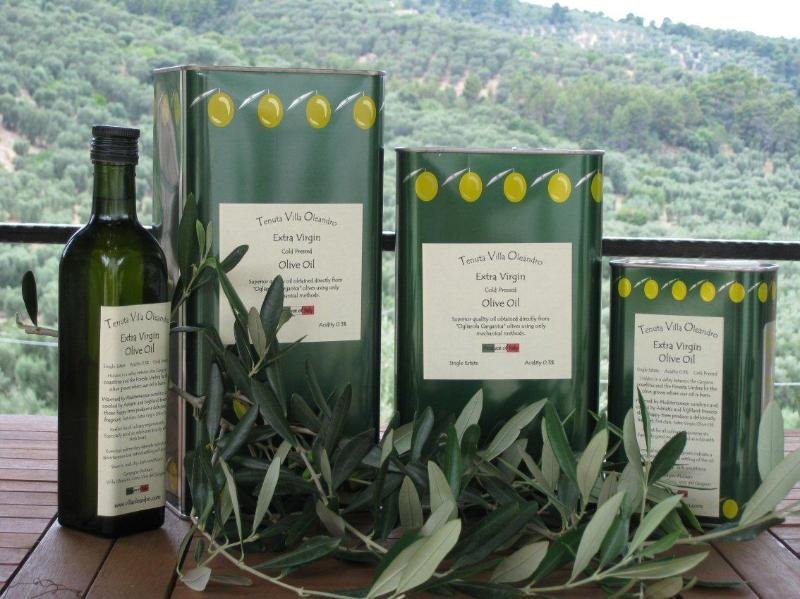Our Extra Virgin Olive Oil