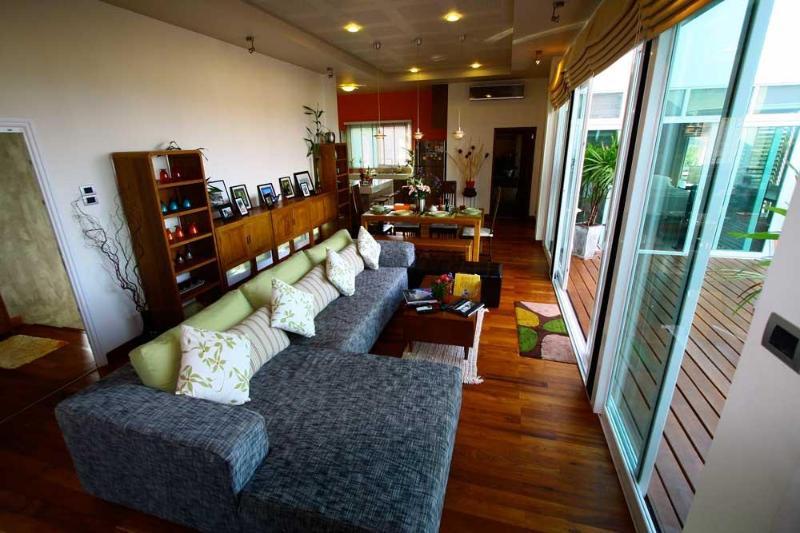 Main living area | The Levels | luxury, sea-view, villa for rent, Koh Lanta, Thailand