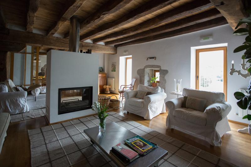 Caserío singular navarro para 10 personas, vacation rental in Navarra