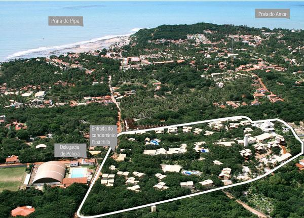 Aerial shot, Pipa Hills
