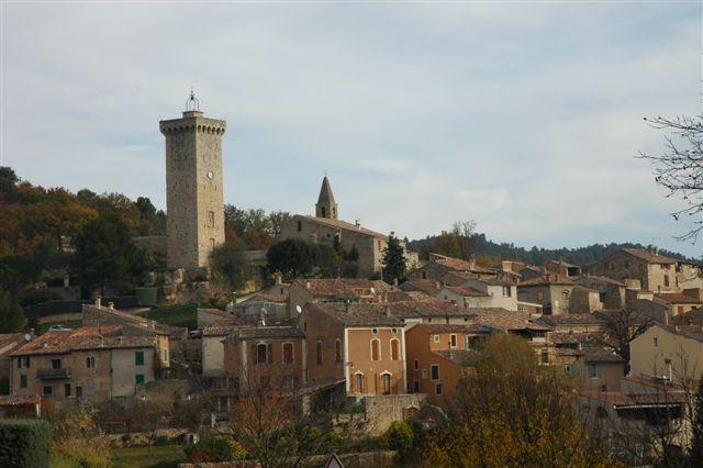 St. Martin-de-Bromes Village