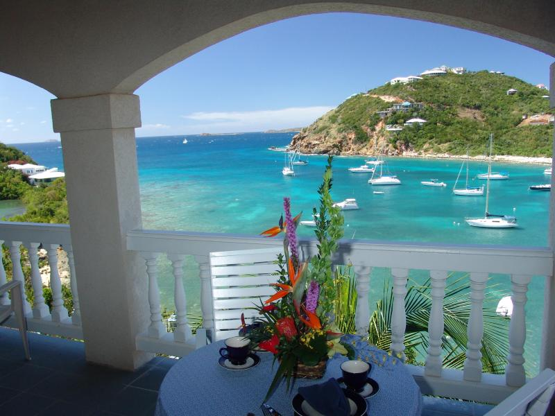 View from every one of the bedroom private balconies