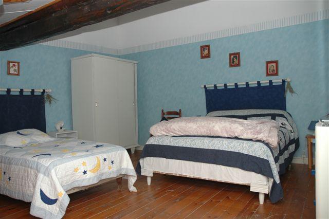 3rd floor - Loft w/ 2 single beds & 1 double, skylight