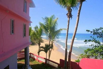 Beachfront on Pools Beach in Rincon, Puerto Rico