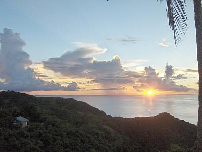 Another glorious sunset view from the Verandah