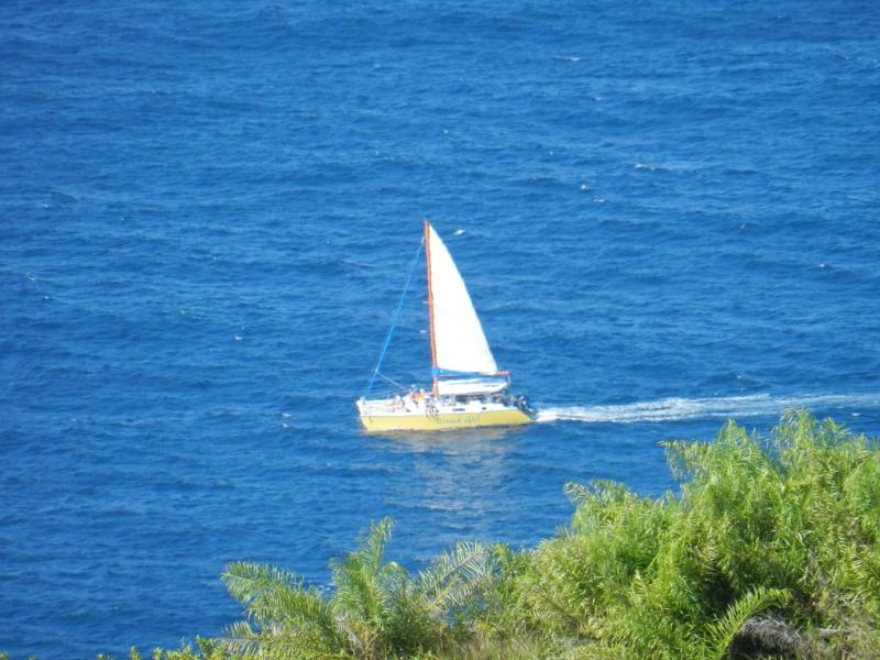 Island Girl (Catamaran Cruise) from balcony