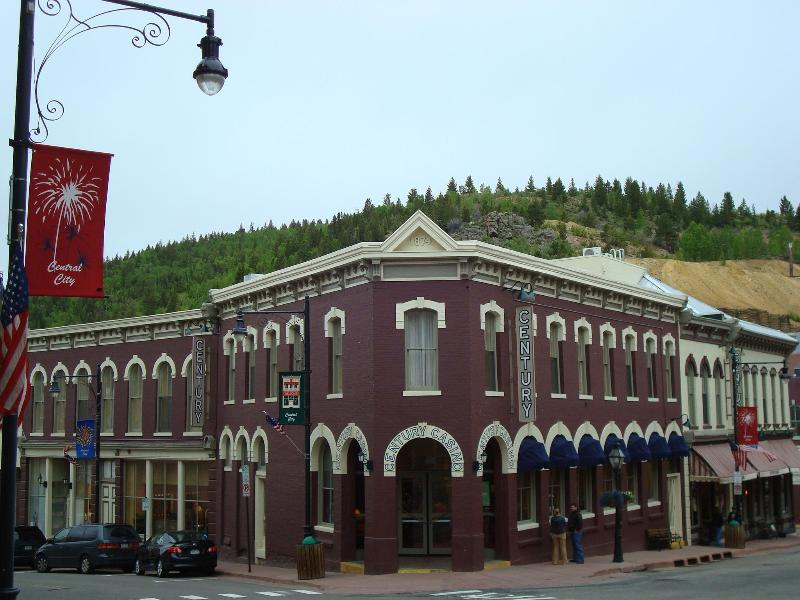 CENTRAL CITY IS FULL OF HISTORIC BUILDINGS