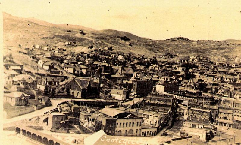 OLD PHOTOGRAPH OF CENTRAL CITY