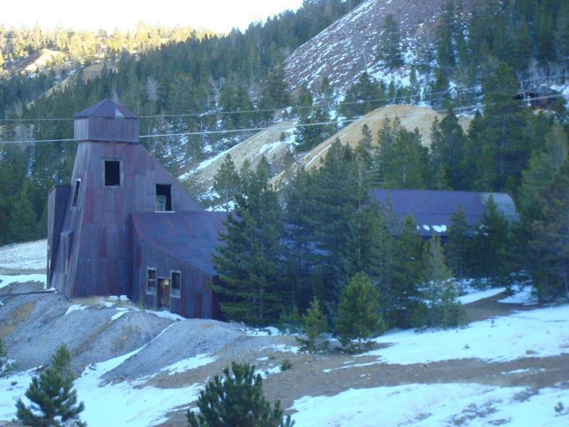 AN OLD MINE BY CENTRAL CITY, COLORADO
