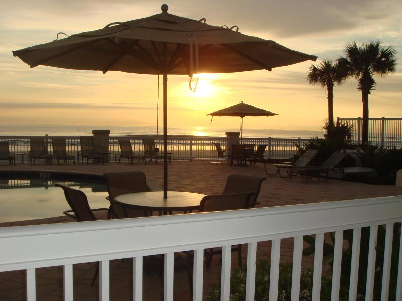 View from any of our adjacent ground level ocean front condos.