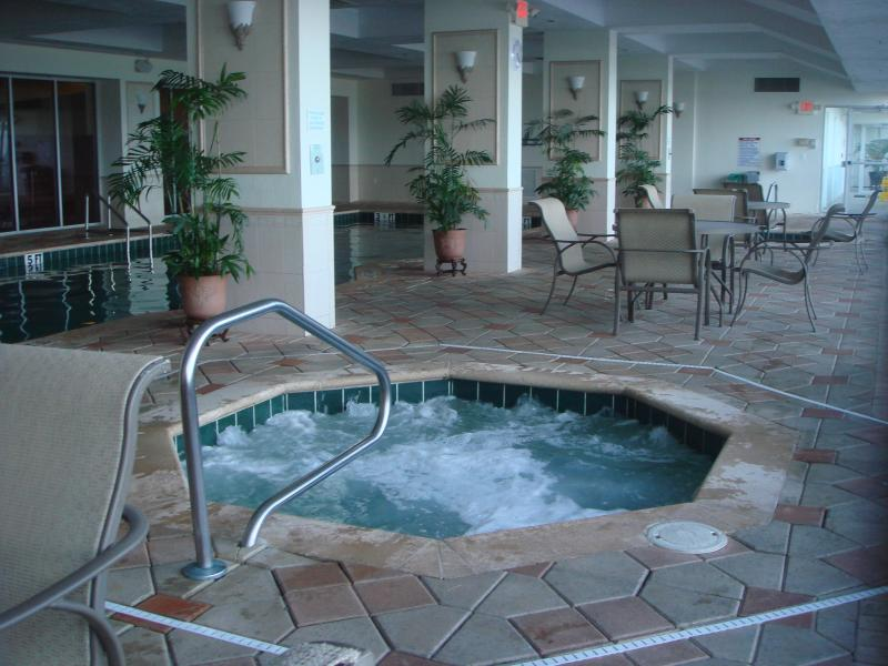 One of the Two Hot tub