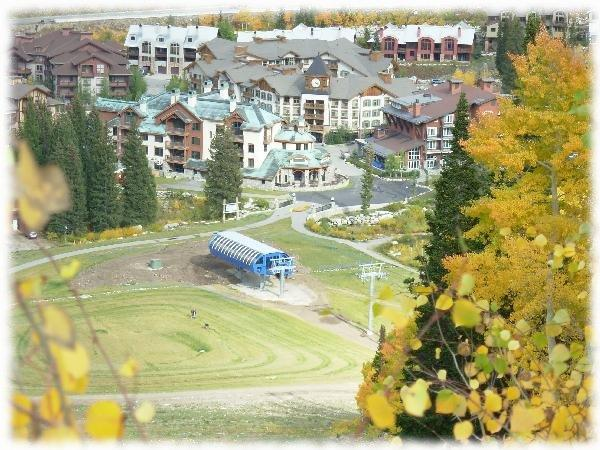 The Powderhorn Lodge has easy slope access