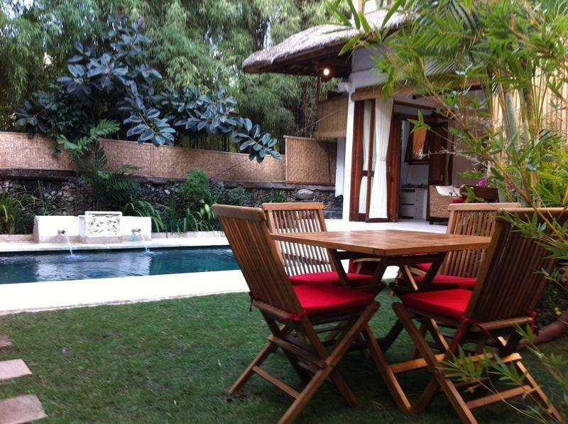 Charming Balinese Thatched Pool Villa