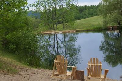 Our Pond - Yes, you can fish there! (Catch & Release)