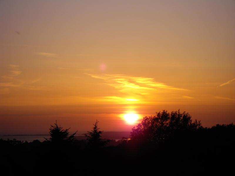 Sunset from the cottage