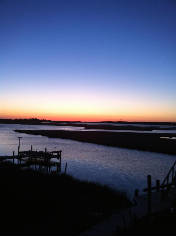 Pre-dawn Sunrise over Assateague and Deep Hole Creek.  Get up early to take these photos!
