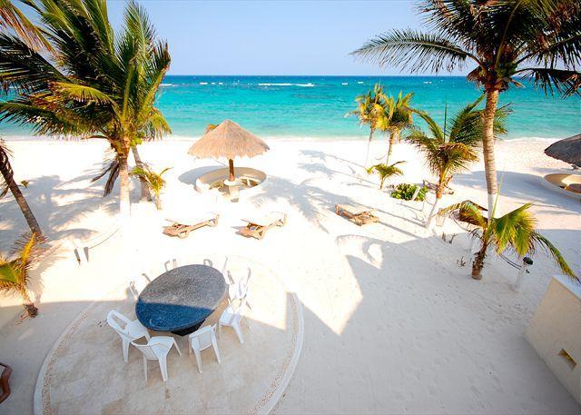 Villa Serenity private beachfront, Aventuras Akumal, Mexico