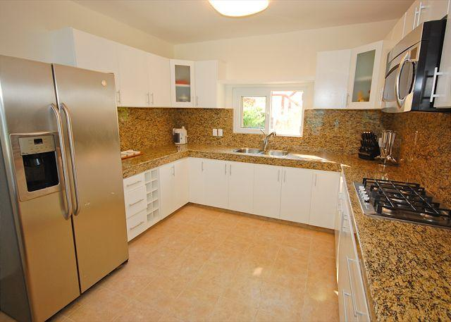 Fully equipped kitchen at Villa Serenity