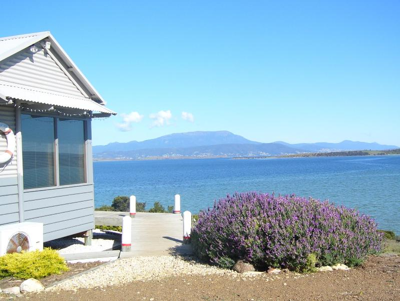 The Boat Shed and Mt Wellington