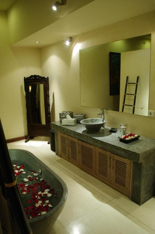 Interior baño de Villa Ketumbar