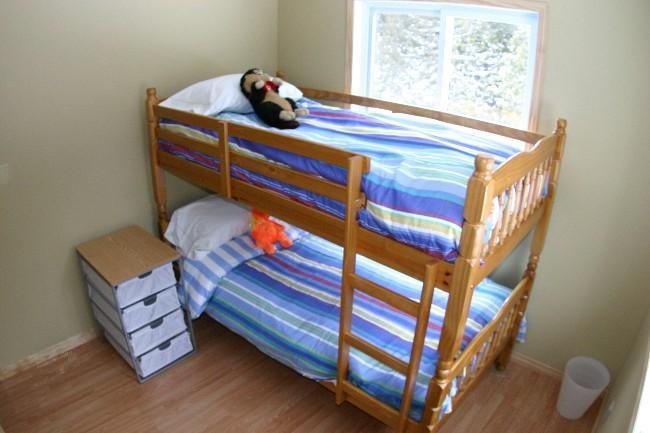 Habitación con cama cucheta