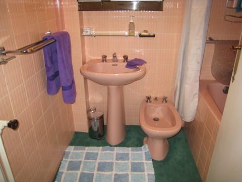 washbasin, bidet and shower facilities