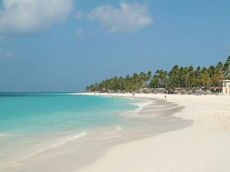 Druif Beach Aruba, only 3 minutes walking from your apartment