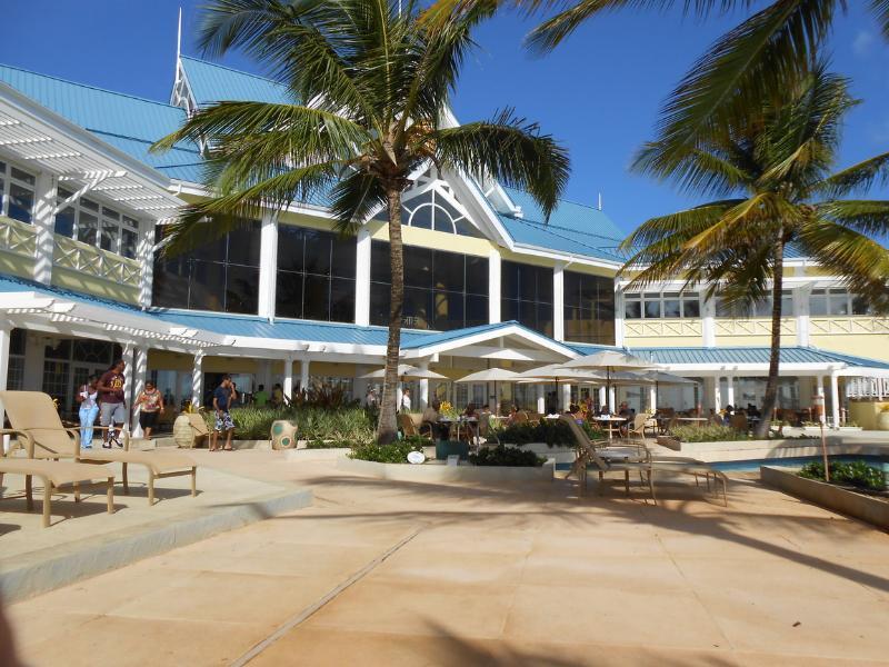 Hotel Restaurant in the resort