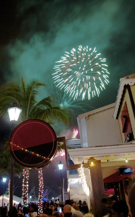 Poort Lucaya op New Year's Eve