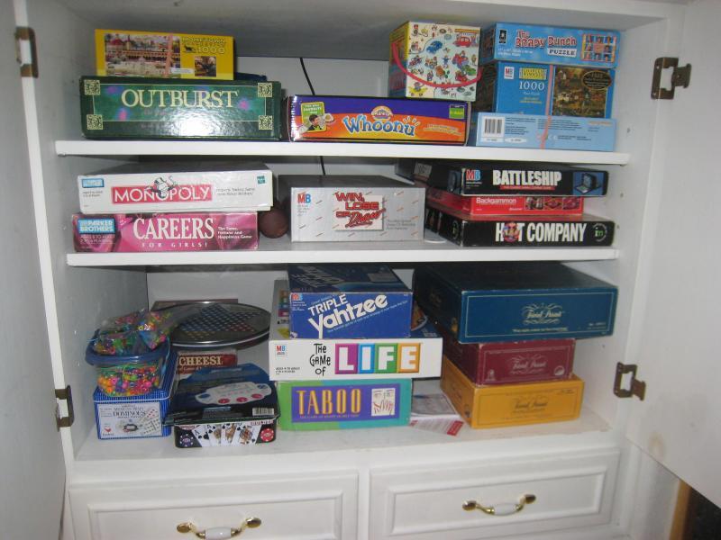 Montón de juegos y rompecabezas