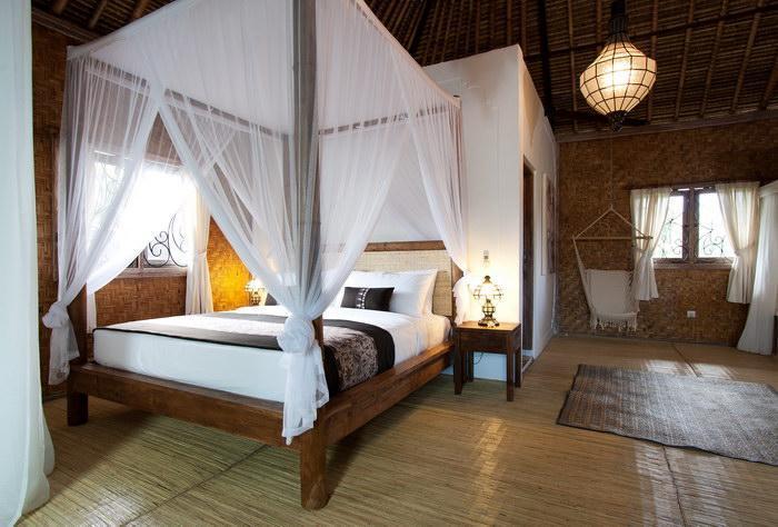 Chambre romantique (chambre géant à l'étage)