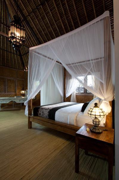 Chambre romantique (chambre à coucher à l'étage)