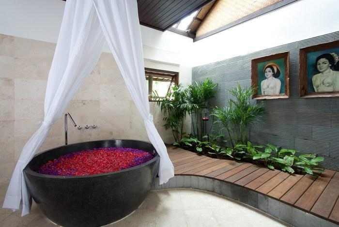 Temple de salle de bain