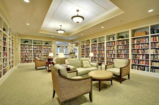 Meerhuis bibliotheek