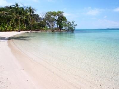 Resort beach.