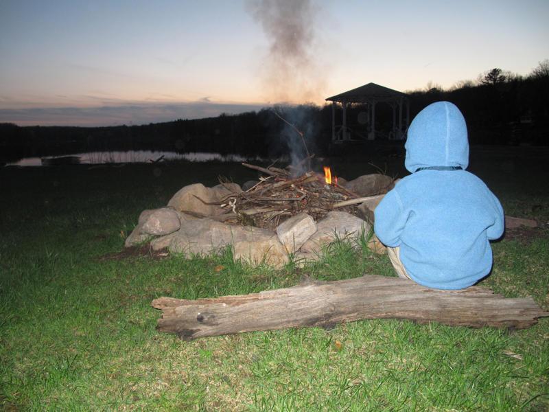 Lakefront Firepit
