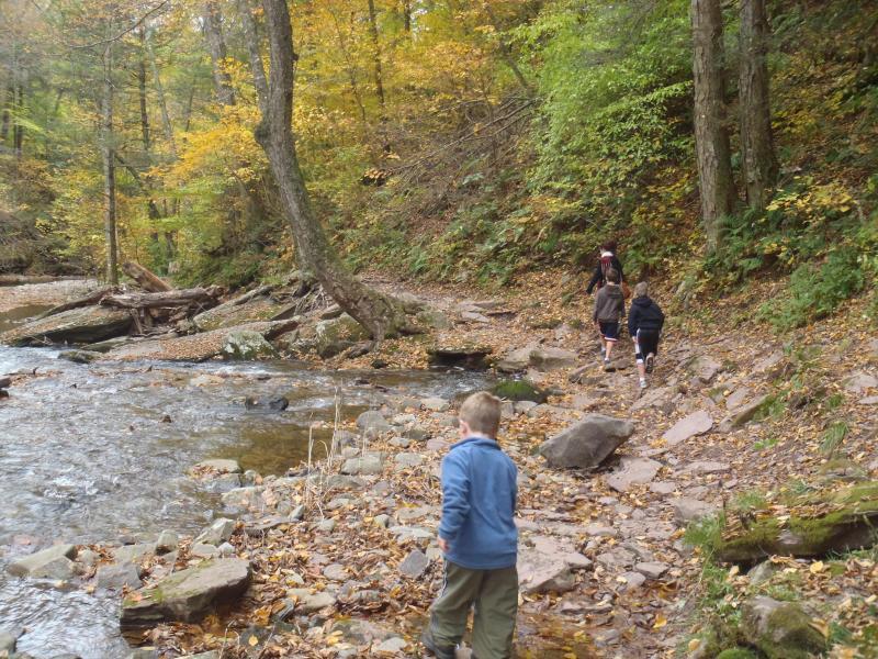 Hiking, Biking, Rafting - all within Minutes of Penn Lake