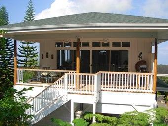 Alquiler de apartamento privado en Kona Coffee sobre garaje