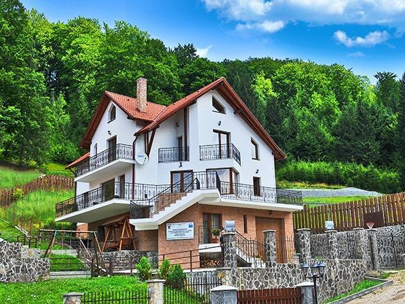 Charming Villa in a Private Mountain Resort, location de vacances à Brasov