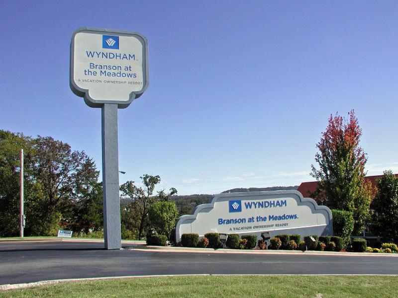 Wyndham at the Meadows Resort Enterance