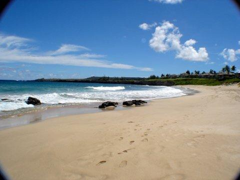 A stone throw away (OK twice) Oneloa beach on your right almost yours...
