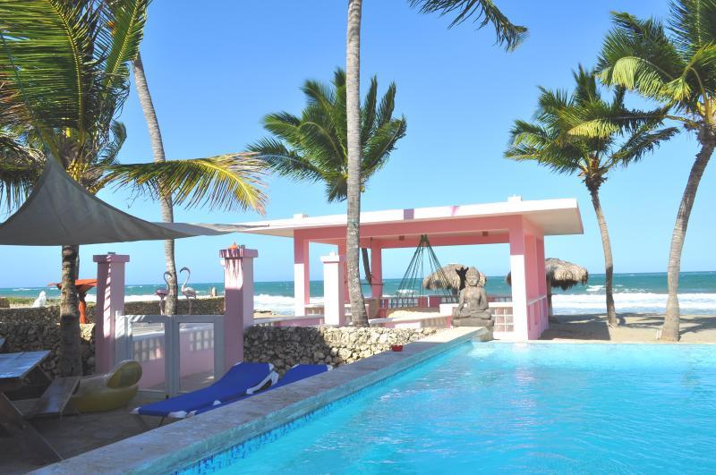 View From Villa Flamingo Pool Bar