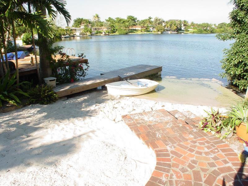 Private Beach, Dock and Boat