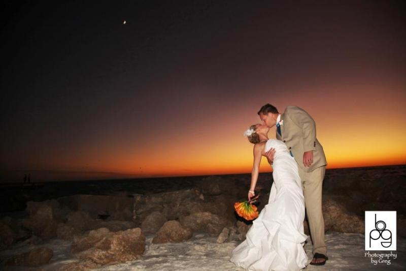 Beach Weddings on our private beach