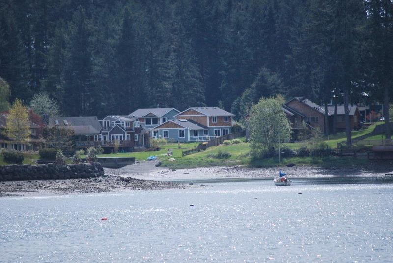 View of the property from the water