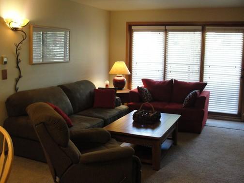 Área de estar da sala grande