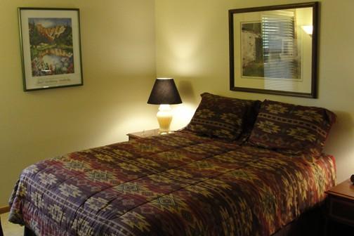 Quarto principal (cama Queen-Size)