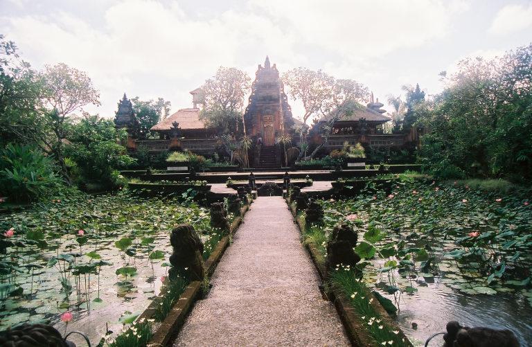 Ubud's Pura Taman Saraswati temple